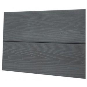 Фасадная панель-планкен (серый дым)