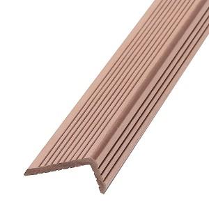 Уголок из ДПК 35*70, цвет коричневый