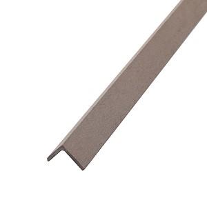 Уголок из ДПК 40х40, коричневый