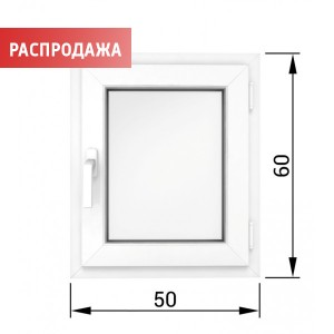 Окно 60*50